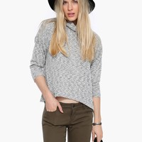 Shabby Chic Turtleneck Sweater