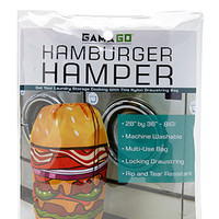 Hamburger Laundry Bag Orange One