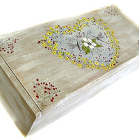 Large Original Art Pencil Box