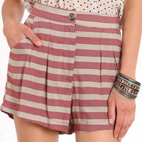 Manchester Striped Shorts - &amp;#36;35.00 : ThreadSence.com, Your Spot For Indie Clothing  Indie Urban Culture
