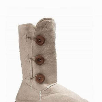 BUTTON SHERPA BOOTS