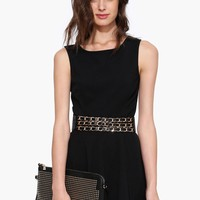 Beauarific Mini Black Dress