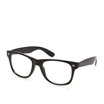 Classic Square Readers Black One
