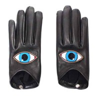 Yazbukey - Eyes leather gloves - VALERY DEMURE