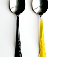 More Design Please - MoreDesignPlease - A Painted Spoon : DIY