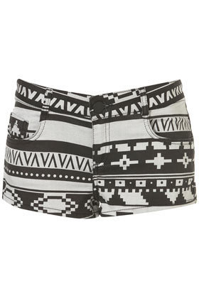 MOTO Aztec Hotpants - Shorts  - Apparel