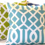 Pillow Set Modern Trellis Indoor/Outdoor   (3) 16 X 16
