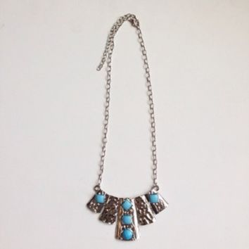 Sky Tribal Necklace from Now and Again Co.