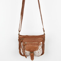 Crochet Trim Pocket Crossbody Bag 242105409 | Handbags