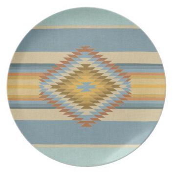 Fiesta Vintage Party Plate by Bianca Green