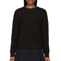 Marc By Marc Jacobs Black Wool Walley Sweater