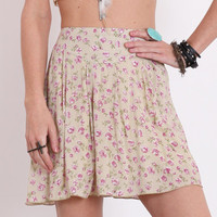 Floral Daze Printed Skirt - &amp;#36;29.00 : ThreadSence.com, Your Spot For Indie Clothing  Indie Urban Culture