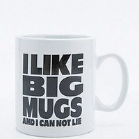 I Like Big Mugs Mug - Urban Outfitters