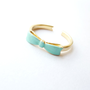 Mint Bow Ring