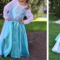 Princess Dress with Long Cape! GET IT BY HALLOWEEN!