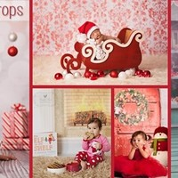 "60""x60"" Holiday Backdrops"