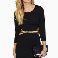 Back Off Mini Dress $53