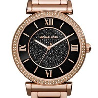 Women's Michael Kors 'Caitlin' Crystal Dial Bracelet Watch, 38mm