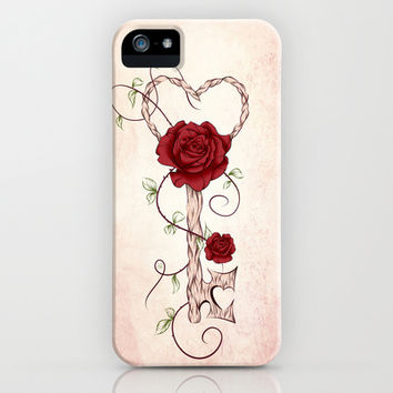 Key Of Love iPhone & iPod Case by LouJah
