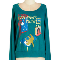 ModCloth Quirky Short Long Sleeve Story Timeless Tee