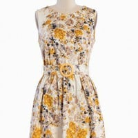 belle of the ball floral dress at ShopRuche.com