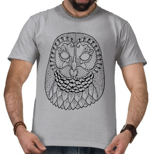 Owl Artwork T Shirt Design From From Zazzle Indie T Shirt