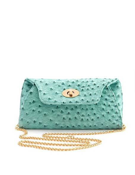 Ostrich Studded Mini Bag: Charlotte Russe