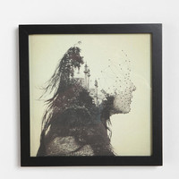 Dan Mountford Double Exposure Vector Art Print