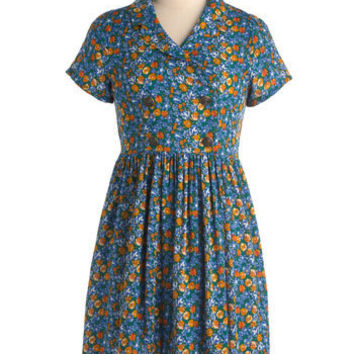 Just Precious Play Dress in Green | Mod Retro Vintage Dresses | ModCloth.com