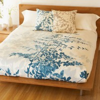 """Fern"" Duvet Cover: Peacock : Branch: Sustainable Design for Living"