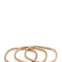 bangle-bracelet-trio GOLD SILVER - GoJane.com