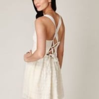 Free People Raw Cut Ruffle Tier Dress at Free People Clothing Boutique