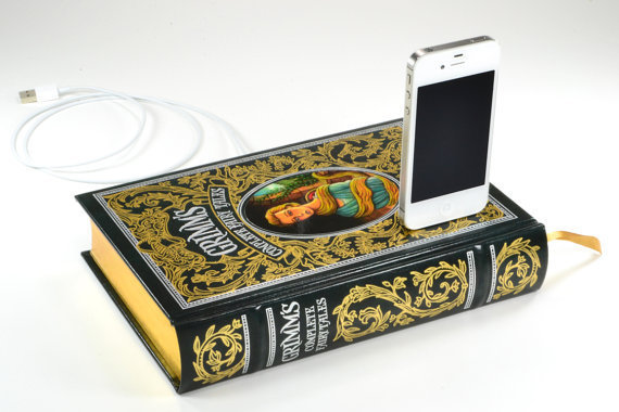 Grimm's Fairy Tales Canterwick Book Charger for iPhone and iPod