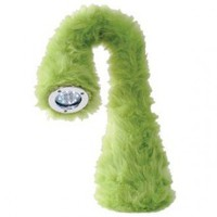 Nessie?- - huggable, bendable desk lamp - green, red | X-treme Geek