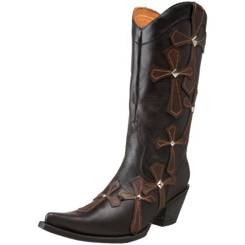 Stetson Women's 6102 Cutout Cross Boot