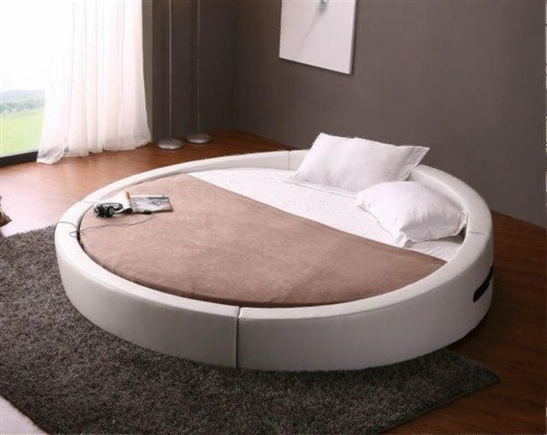 Modern Round  Bedroom Opus
