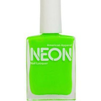 Neon Nail Polish American Apparel