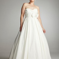 Buy Strapless Taffeta Ballgown with Bow and Brooch Style 9T3039  for $129.37 only in Fashionwithme.com.