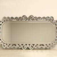 Large Scale Reproduction Venetian Style Mirror