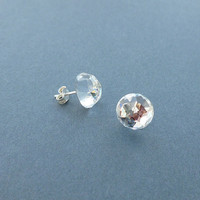 gorgeous sparkling crystal swarovski rhinestone stud earrings
