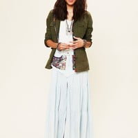 Free People Guipil Saloon Maxi Skirt