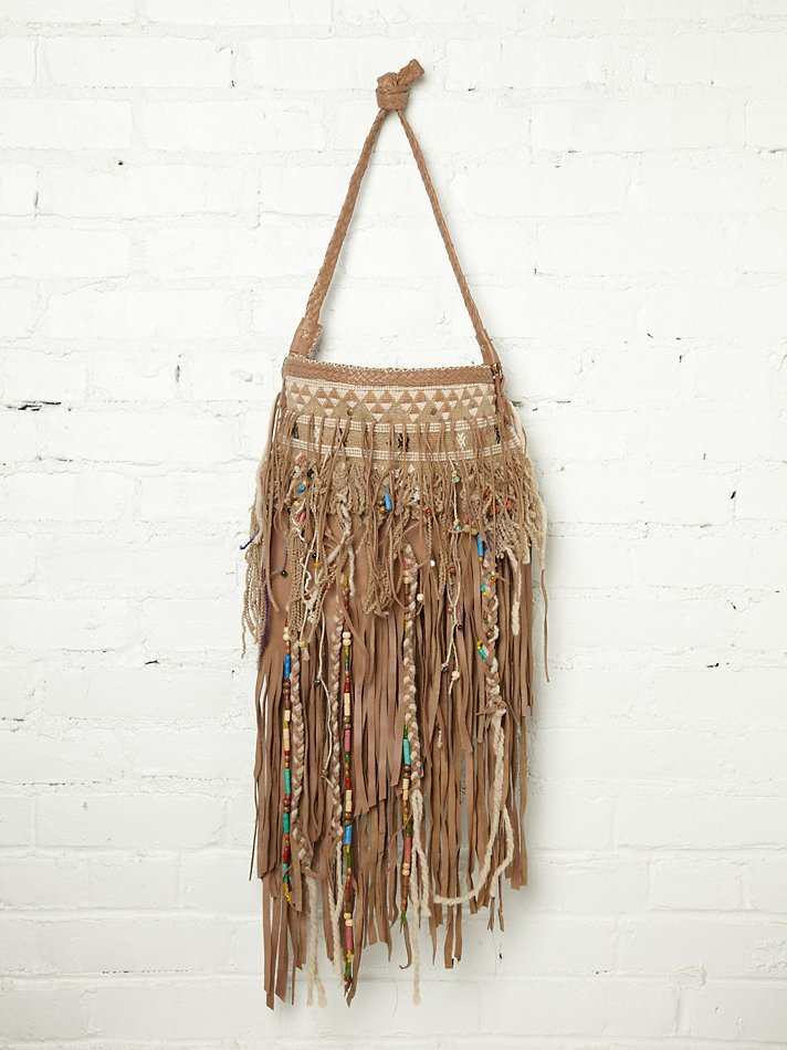 Free People Collected Treasures Satchel