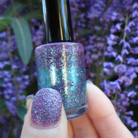Purple Haze : Custom-Blended Nail Polish Glitter Nail Polish