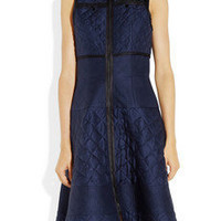 Proenza Schouler | Quilted-silk dress | NET-A-PORTER.COM