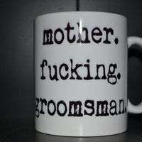Personalized Groomsman Gift Coffee Mug Set 0f 5