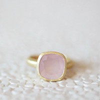 light of my life indie pink stone ring at ShopRuche.com
