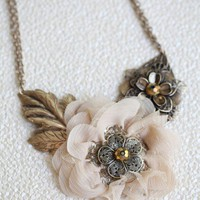 eternal bond flower necklace at ShopRuche.com