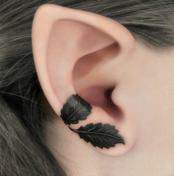 Dark Forest Right Ear Cuff