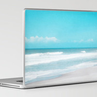 Soft Ocean Laptop & iPad Skin by Sweet Moments Captured | Society6