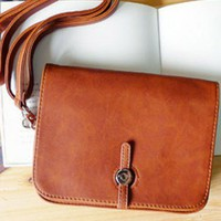 Retro Rectangular Shoulder Bag